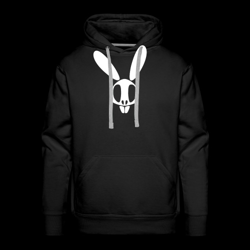 Bunnyskull Weiß - Männer Premium Hoodie