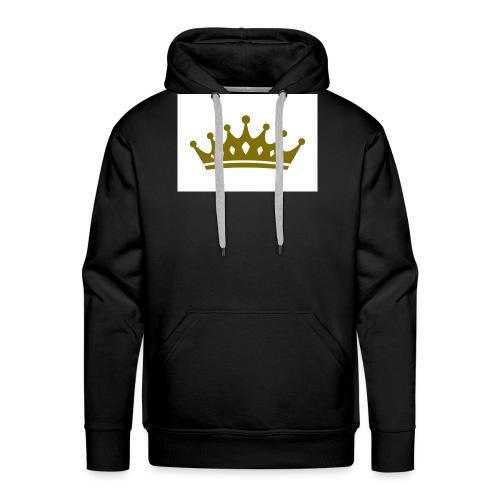 Kongen - Premium hettegenser for menn