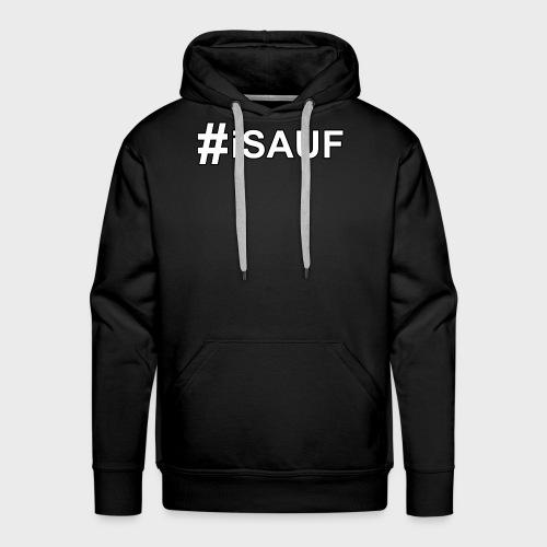 Hashtag iSauf - Männer Premium Hoodie