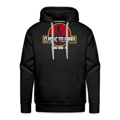 Classic Telemark - Sweat-shirt à capuche Premium pour hommes