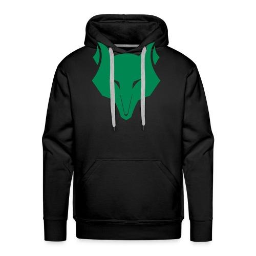 wolfskopf - Männer Premium Hoodie