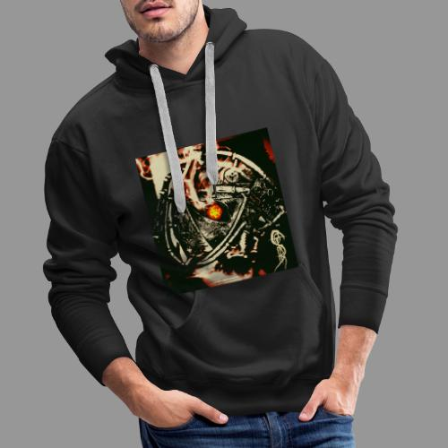 screams of the remains - never leave your path - Men's Premium Hoodie