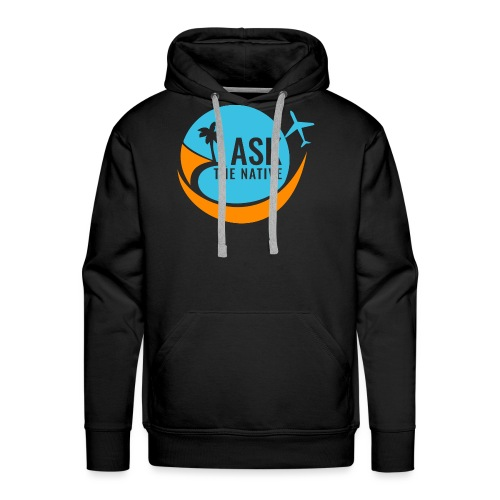 Ask the Native Original Logo - Mannen Premium hoodie