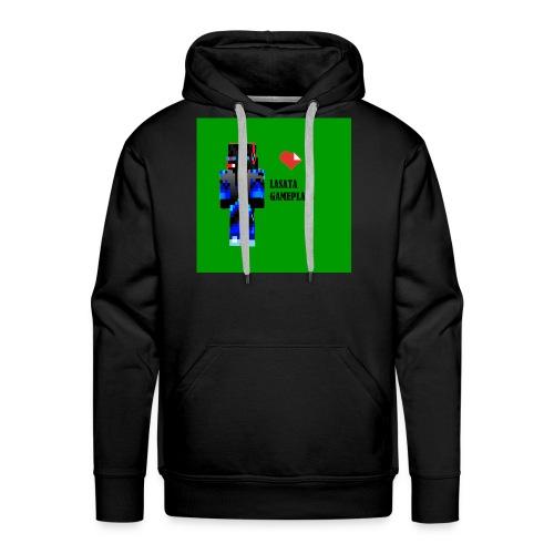 Adoro Lasata gameplays - Sudadera con capucha premium para hombre