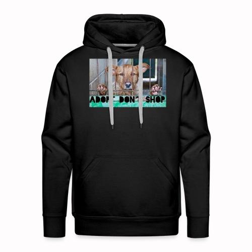 adopt don't shop - Mannen Premium hoodie