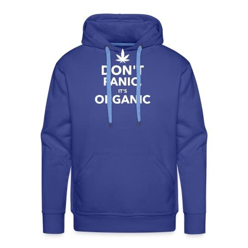 Don't panic it's organic - Sweat-shirt à capuche Premium pour hommes