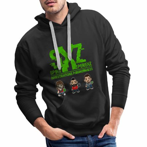 Team SXZ Chibis S3 - Sweat-shirt à capuche Premium pour hommes