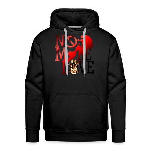 get no love - Men's Premium Hoodie