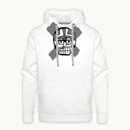 Motard Junior - BlackAndWhite - Sweat-shirt à capuche Premium pour hommes