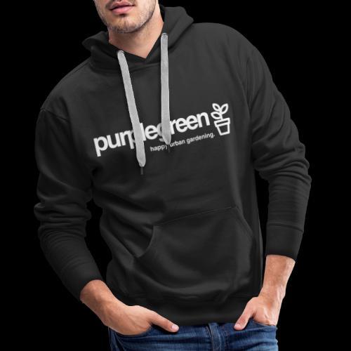 purplegreen classic - Männer Premium Hoodie