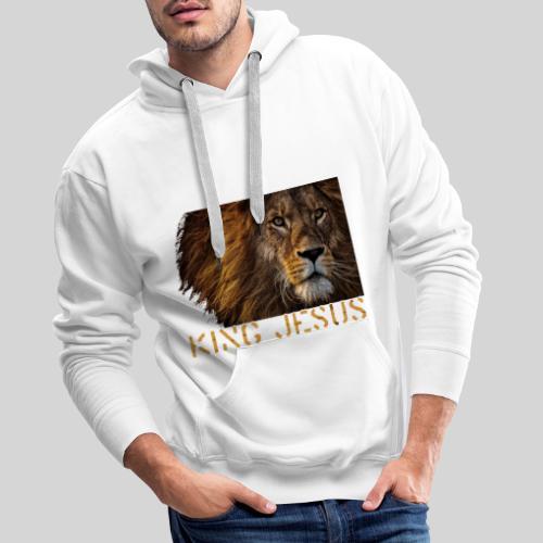 König Jesus der Löwe von Juda - Männer Premium Hoodie
