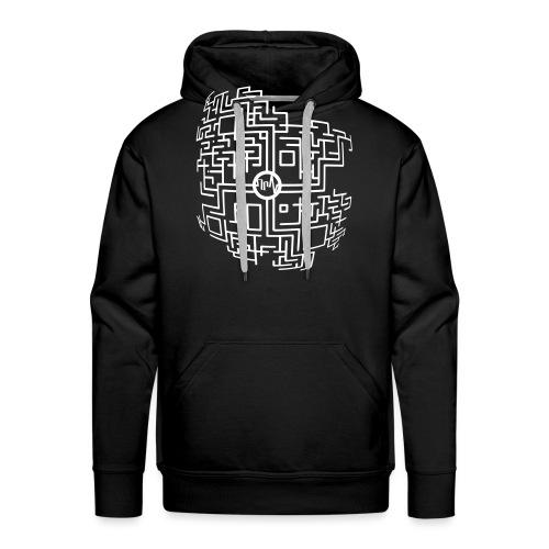 MacroAbstract PdB1 - Sweat-shirt à capuche Premium pour hommes