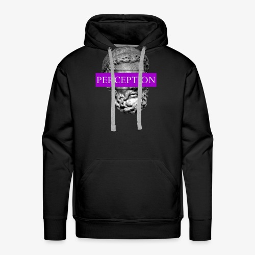 TETE GRECQ PURPLE - PERCEPTION CLOTHING - Sweat-shirt à capuche Premium pour hommes