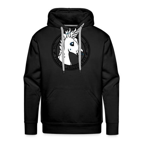 Colt - Unicorn Love (onwhite) - Männer Premium Hoodie