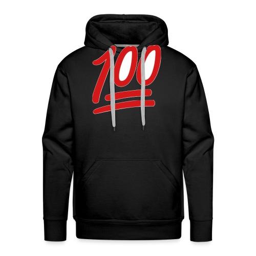 100 - Mannen Premium hoodie