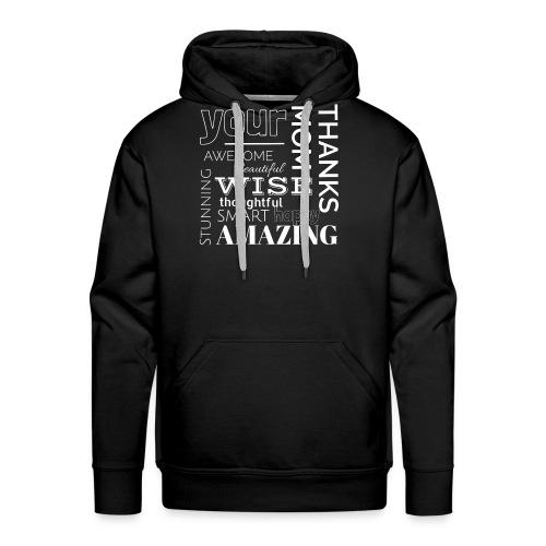 Amazing clothes - Sudadera con capucha premium para hombre