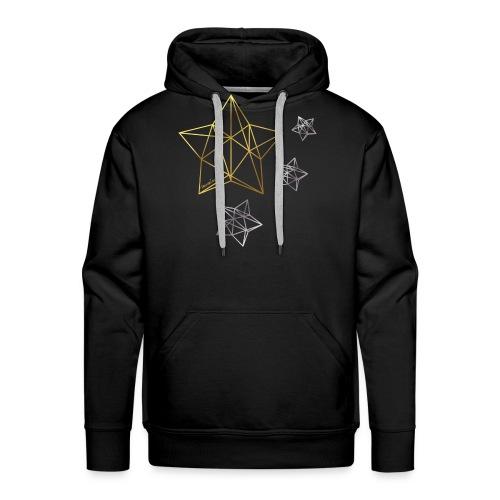 mamiseelen Sterne gold-silber - Männer Premium Hoodie