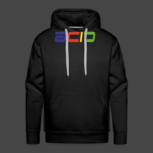 acide - Sweat-shirt à capuche Premium pour hommes