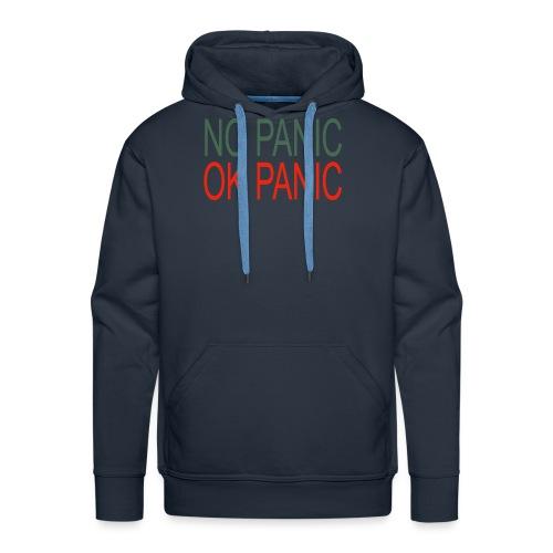 OK Panic - Felpa con cappuccio premium da uomo