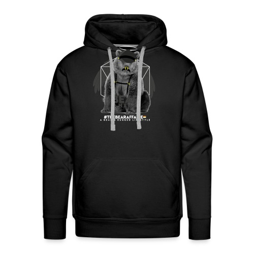 TBA Shirts Male BEARLINE Daddy Bear - Männer Premium Hoodie