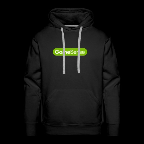 Clothing with green gamesense.pub - logo - Men's Premium Hoodie