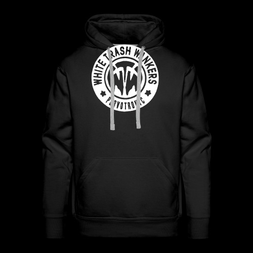White Trash Wankers Pervotronic-Logo - Männer Premium Hoodie