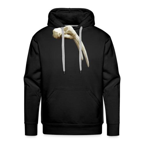 Schedel van een walrus - Mannen Premium hoodie