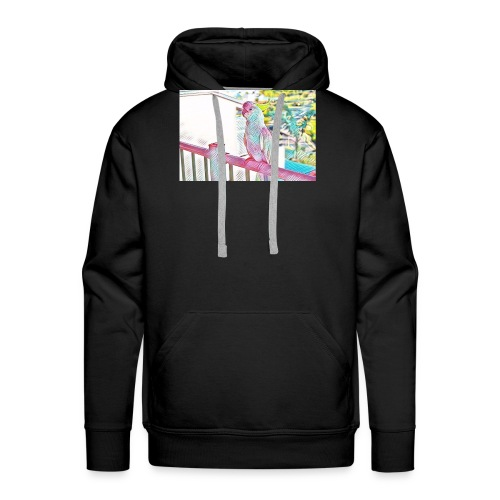 perroquet - Sweat-shirt à capuche Premium pour hommes