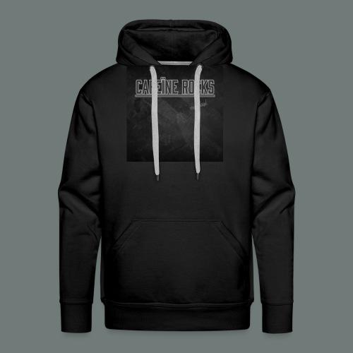 Cafeïne Rocks My Day - Mannen Premium hoodie