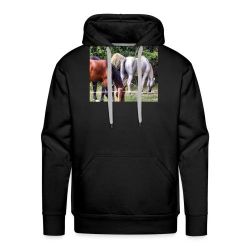racehorse horses horse horsesofinstagr - Männer Premium Hoodie