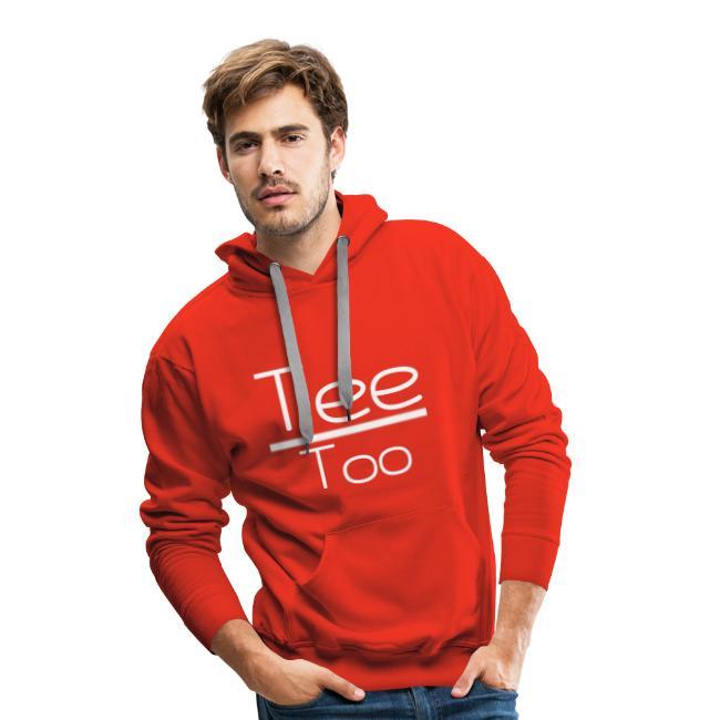 TeeToo text logga vit