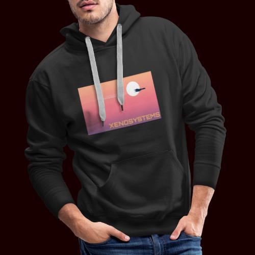 Xeno système - Sweat-shirt à capuche Premium pour hommes
