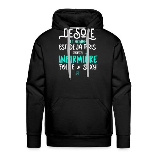 DESOLE SEXY - Sweat-shirt à capuche Premium pour hommes