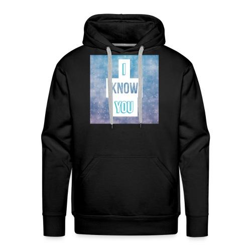 I_Know_You Logo - Männer Premium Hoodie