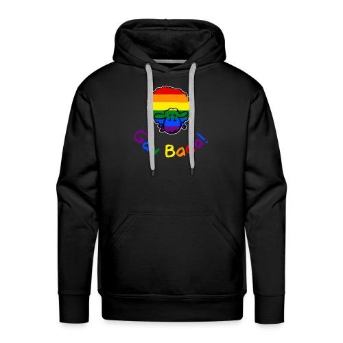 Homosexuell Baaa! Pride Sheep (schwarze Ausgabe Regenbogentext) - Männer Premium Hoodie