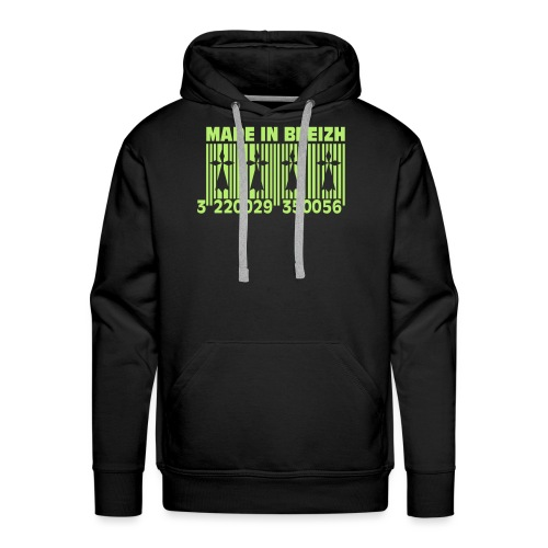 Made in Breizh - Sweat-shirt à capuche Premium pour hommes