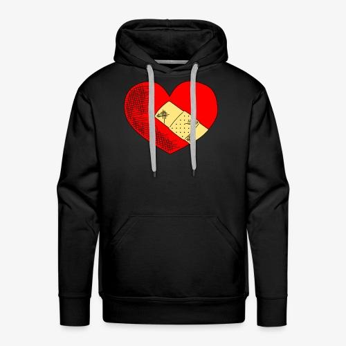 Herzschmerz - Männer Premium Hoodie