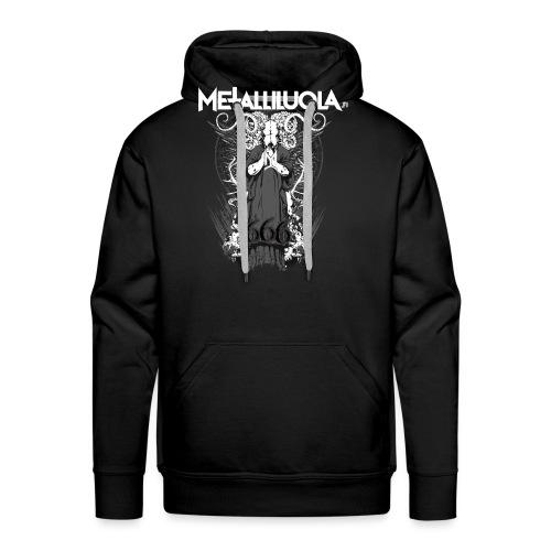 Metalliluola logo ja Demoniac 666 - Miesten premium-huppari