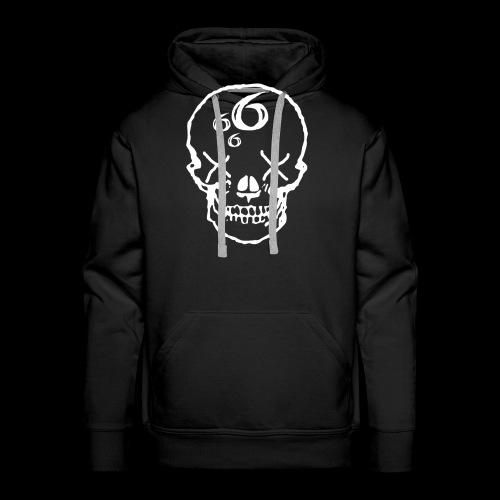 666 Skull - Premiumluvtröja herr