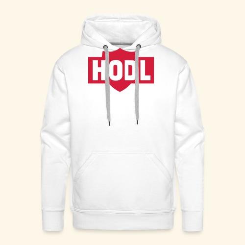HODL TO THE MOON - Miesten premium-huppari