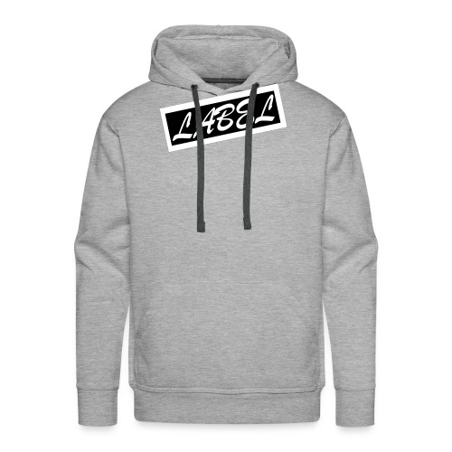 LABEL - Inverted Design - Men's Premium Hoodie