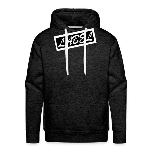 LABEL - Inverted Design - Men's Premium Hoodie