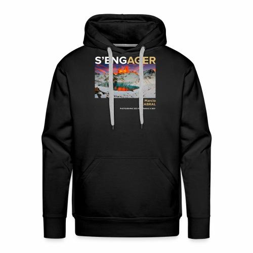 1 Achat = 1 don à la Fondation Surf Rider Europe - Sweat-shirt à capuche Premium pour hommes