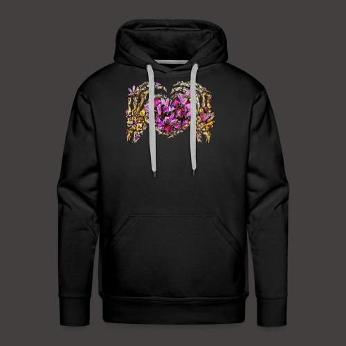 L amour Cristallin Creepy - Sweat-shirt à capuche Premium pour hommes