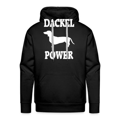 Dackel Power - Männer Premium Hoodie