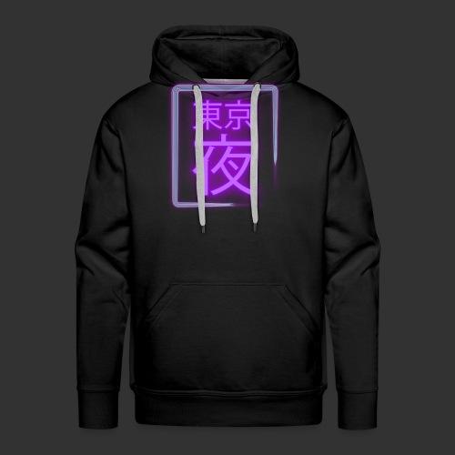 Tokyo Night 東京夜 - Sweat-shirt à capuche Premium pour hommes