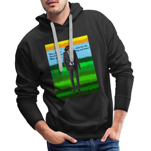 scheiß design - Männer Premium Hoodie