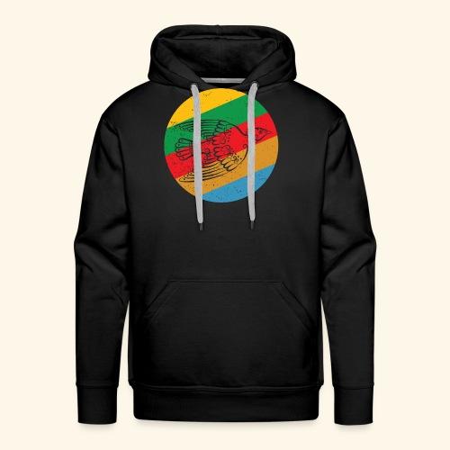 Grenadian Dove Retro - Men's Premium Hoodie