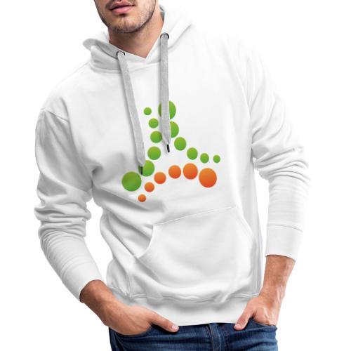 logotipo - Felpa con cappuccio premium da uomo