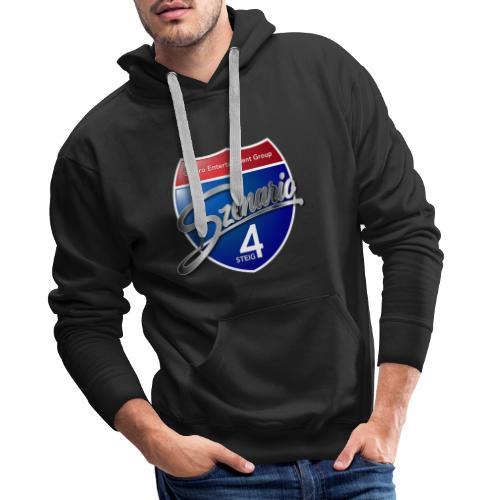 Steig4 - Szenario - Logo - Männer Premium Hoodie